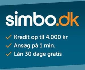 simbo lån 4000 30 dage gratis