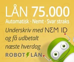 Robotlån lån 75000 med nemid